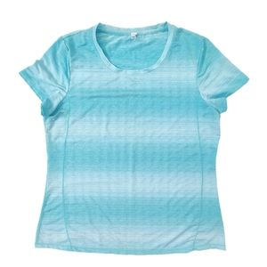Short Sleeve Athletic Shirt Green